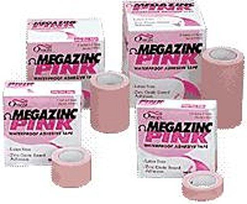 Megazinc Pink Tape (DSS Omega Medical Products Megazinc Pink Adhesive Tape 2