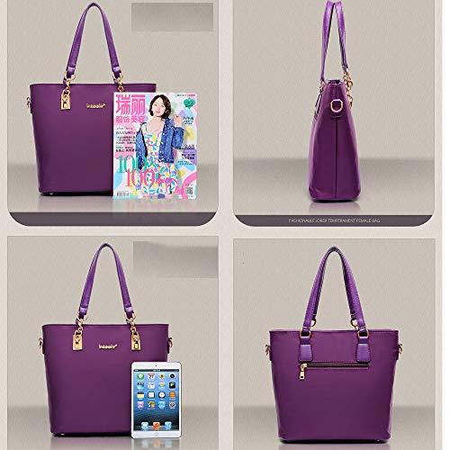 Pezzi Red Nylon Portafoglio Borsa Donna Black Spalla Borsa In Mamma Messenger Bag Mhxzkhl Di Moda Sei wU06B6x