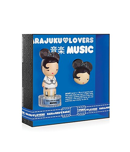 Gwen Stefani Harajuku Lovers Music Gift Set (Ounce Perfume 0.04 Solid)