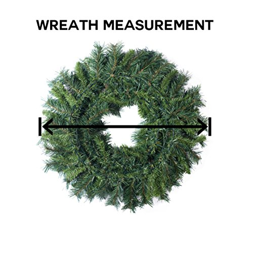 Vickerman Cheyenne Pine Wreath with 25 Cones and 450 Tips, 48-Inch by Vickerman (Image #1)
