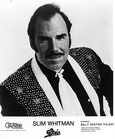 Slim Whitman Promo Print by Wolfgang's Vault