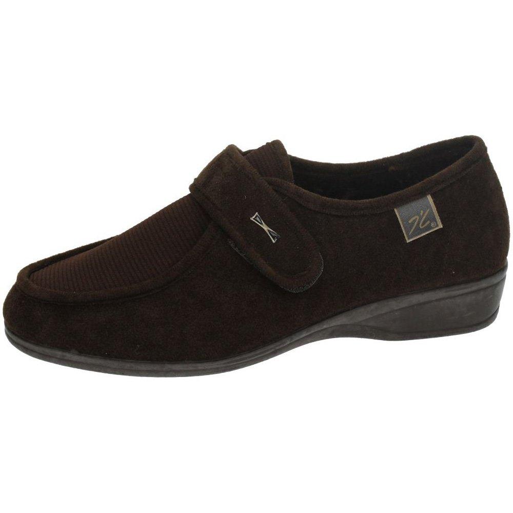 Doctor Cutillas 771 - Zapato Velcro Licra Negro