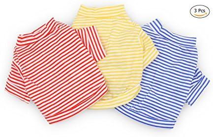DroolingDog Clothes Striped T Shirt Apparel product image