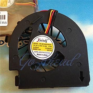 KTC Computer Technology nuevo procesador de ordenador portátil del ventilador del refrigerador apto para Dell Inspiron N4020 N4030 M4010 14V P07G MCF ...