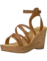 Women's Zaira Strappy Platform Cork Wedge Sandal
