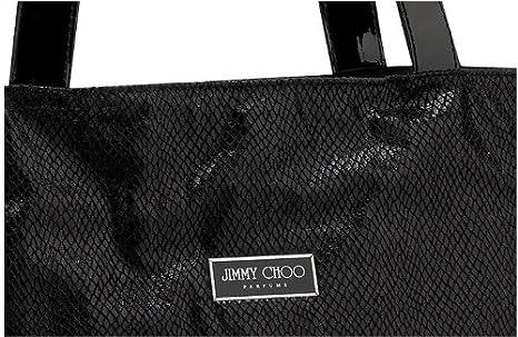 2b265cf6b7d Amazon.com : Jimmy Choo Designer Tote Perfume Bag Tote : Makeup Travel Cases  And Holders : Beauty