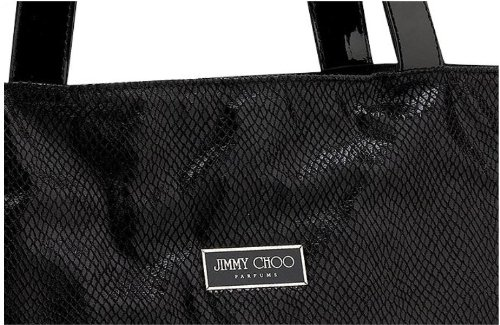 c5da597e96 Amazon.com : Jimmy Choo Designer Tote Perfume Bag Tote : Makeup Travel  Cases And Holders : Beauty