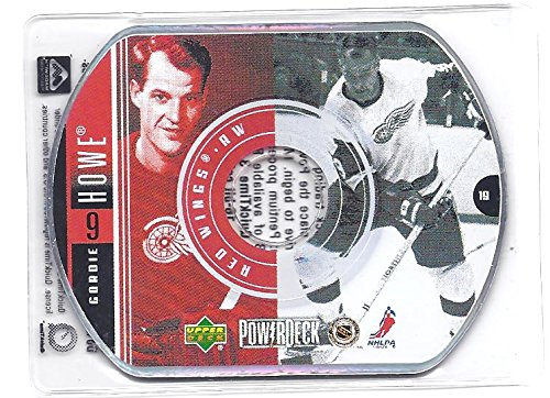 GORDIE HOWE 1999-00 Upper Deck PowerDeck #19 CD Card Detroit Red Wings Hockey