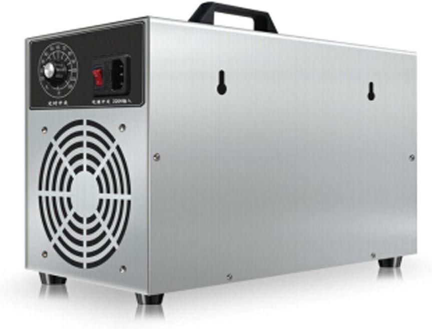 Máquina de desinfección de ozono Purificador de aire Nuevo tipo Máquina de ozono pequeña Purificación de esterilización silenciosa altamente eficiente, disponible en la cocina Dormitorio Baño C