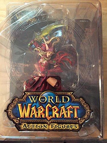 (World of Warcraft Series 1 Valeera Sanguinar Blood Elf Rogue Action Figure)
