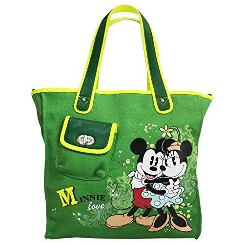Disney Minnie y Mickey Bolso por Mujer al Hombro Shopper