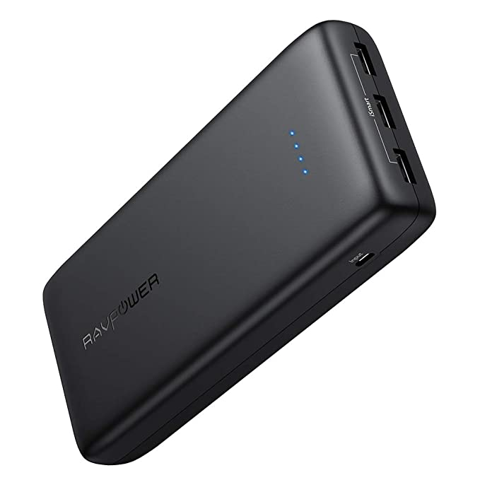 RAVPower Cargador portátil externo USB de 32 000 mAh con una ...