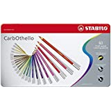 STABILO CarbOthello matite colorate - Scatola in Metallo da 60