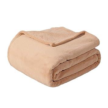 Amazon.com: LRXG - Manta para sofá y cama, gruesa, de coral ...