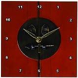 3dRose LLC Oriental Lock 6 by 6-Inch Desk Clock For Sale