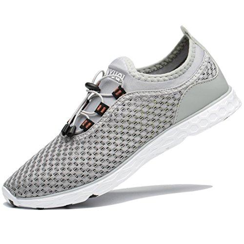TIANYUQI Men's Mesh Slip On Water Shoes