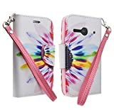 Customerfirst - Flip Wallet Pouch, Currency Pocket, Hand Strap For Alcatel One Touch