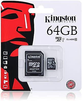 Tarjeta microSD Card Clase 10 con 64Gb Tarjeta de Memoria TF ...