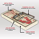 Victor Metal Pedal Rat Trap - M201