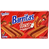 Marinela Barritas De Fresa En Caja Strawberry Bars Box, 18.06 oz