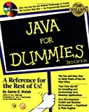 Java for Dummies, Aaron E. Walsh, 0764504177