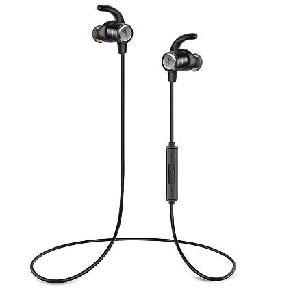 Auriculares Bluetooth Audífonos inalámbricos,Auriculares inalámbricos Audífonos Deporte con micrófono, 8 Horas de Auriculares