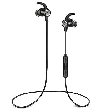 Auriculares Bluetooth Audífonos inalámbricos,Auriculares inalámbricos Audífonos Deporte con micrófono, 8 Horas de Auriculares de reproducción para el Correo ...