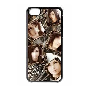 iphone5c phone case Black Tifa.Lockhart Final Fantasy SDD0399690