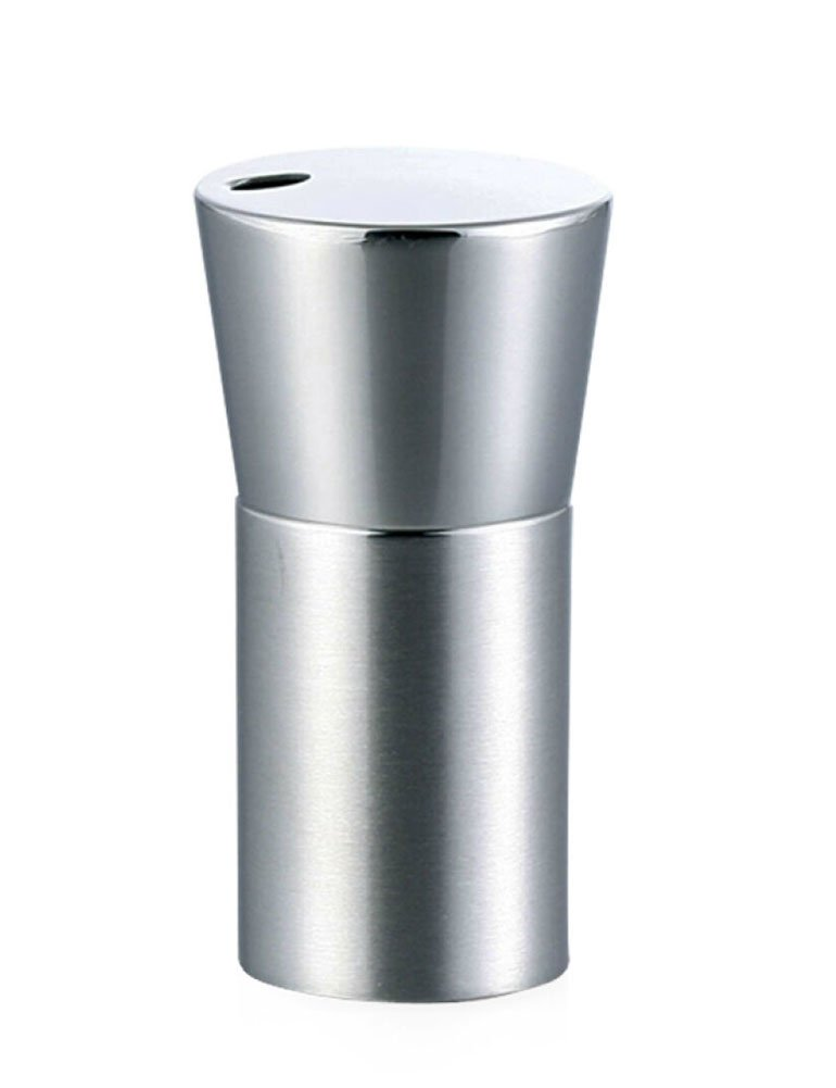 iecool Stainless Steel Metal Creative Portable Y-shaped Toothpick Boxes Silver