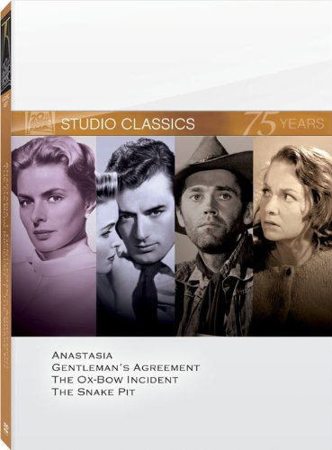 Studio classics (Anastasia / Gentleman's Agreement / The Ox-Bow Incident / The Snake Pit) by FOX Home Entertainment