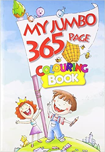 Buy My Jumbo 365 Page Colouring Book: 1 (365 Colouring Book) Book ...
