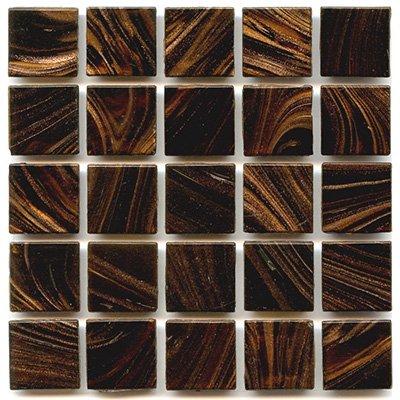 Brown Mosaic Glass - Glass Tile 3/4