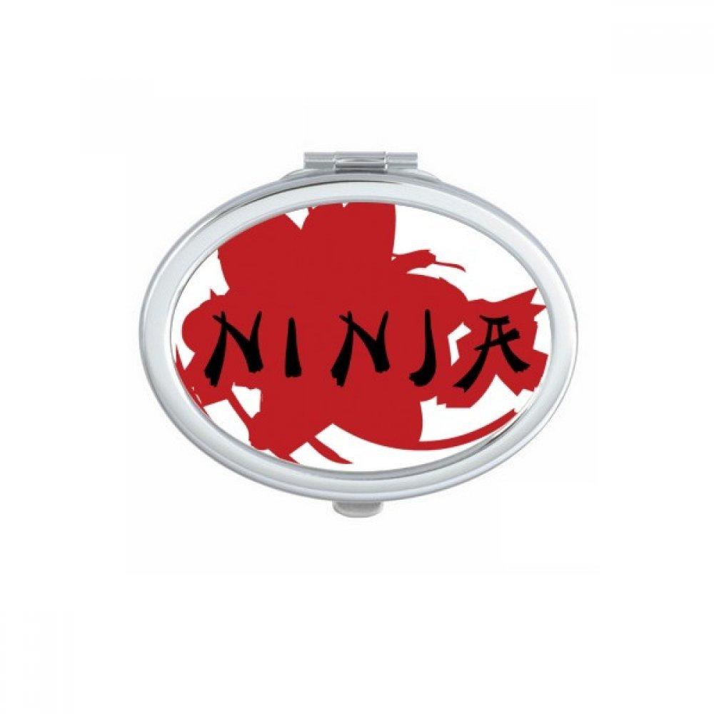 DIYthinker Palabras Japón Sakura Ninja Silueta Oval ...