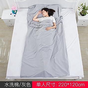 SUHAGN Saco de dormir El Viaje Lavar Algodón Sucio Saco De Dormir Hotel Cada Habitación Individual