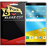 xtremeguard carbon fiber - Huawei Honor Note 8 Screen Protector [6-Pack], Klear Cut High Definition Clear Screen Protector for Huawei Honor Note 8 PET Film Anti-Bubble Shield