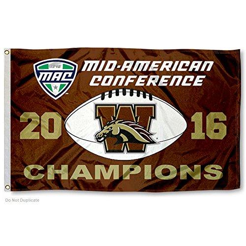 Western Michigan Broncos Wall (Western Michigan Broncos 2016 MAC Champions)