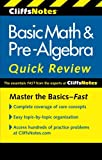 CliffsNotes Basic Math & Pre-Algebra Quick Review, 2nd Edition (Cliffs Quick Review (Paperback))