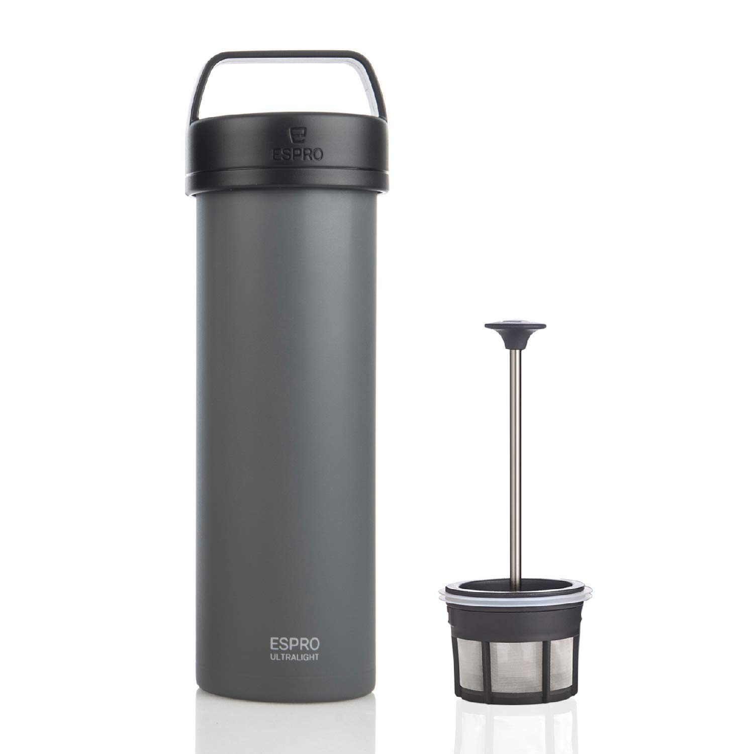 Espro 5116C-BS Ultralight Coffee Press Brushed 16 oz Vacuum Insulated Stainless Steel