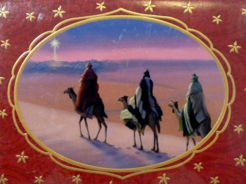 (Trimmerry 3 Wisemen Star of Heaven Christian Christmas Cards)
