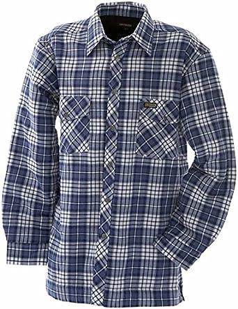 Blaklader - Camisa de leña vintage (100 % franela): Amazon.es ...