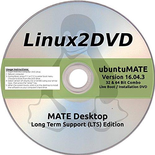 ubuntuMATE Linux 16.04.3 LTS 32 & 64 Bit, Ubuntu + MATE/Compiz - Latest Long Term Support Release