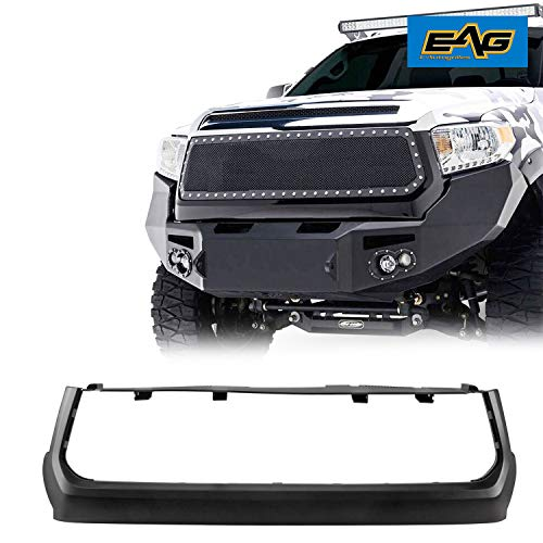 EAG Grille Shell Surround Matte Black ABS Plastic Shell Fit for 2014-2018 Toyota Tundra