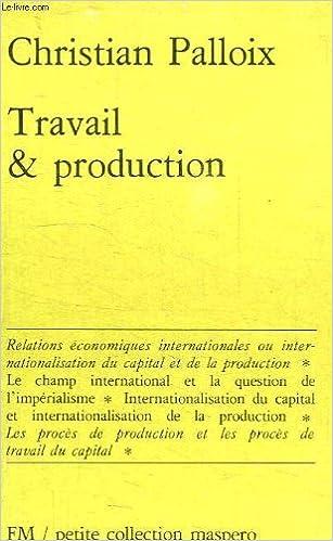 Lire Travail et production epub pdf