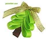 """60yd (12x5yd) 3/8"""" Christmas, Holiday, Winter Grosgrain Ribbon for Hair Bows, Gift Wrapping..."""