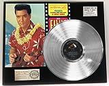 Elvis Presley 'Blue Hawaii' Platinum LP Record LTD Edition Award Style Collectible Display