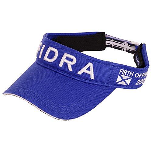 フィドラ FIDRA 帽子 ツイルサンバイザー ブルー フリー