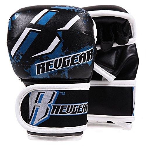 REVGEAR[《레기아》] 키즈용 MMA파이트 글로브 (블루)/ Youth Deluxe MMA Glove