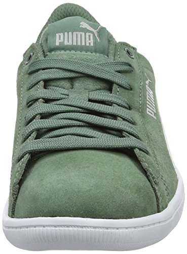 Puma Vikky, Sneakers Basses Femme, Aruba Blue White 14 Gris (Laurel Wreath-puma White 27)