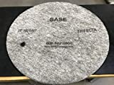 27 Inch 2 Pack Sase Trifecta Super Gloss High Speed Polishing Pads 100 Grit