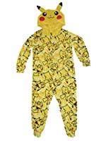 Pokemon Pikachu Boys Union Suit Pajamas 4-16
